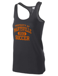 The Marysville High School Indians District Threads Racerback Tank is semi-fitted for a flattering look and perfect for layering. Racerback detail lends casual, athletic style.