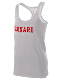 The Conard High School Chieftains District Threads Racerback Tank is semi-fitted for a flattering look and perfect for layering. Racerback detail lends casual, athletic style.