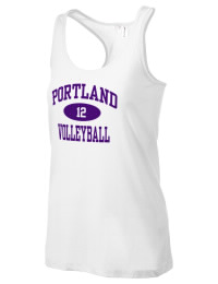 The Portland High School Panthers District Threads Racerback Tank is semi-fitted for a flattering look and perfect for layering. Racerback detail lends casual, athletic style.