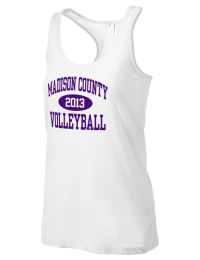 The Madison County High School Tigers District Threads Racerback Tank is semi-fitted for a flattering look and perfect for layering. Racerback detail lends casual, athletic style.