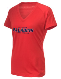The Ladies Ultimate Performance V-Neck Fellowship Christian School Paladins tee is perfect for your active lifestyle.  The V-neck performance t-shirt is made with moisture wicking fabric and has a soft, cotton-like feel. This layerable Fellowship Christian School Paladins V-neck tee is sure to become a favorite on and off the court.
