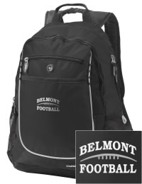 A go-anywhere Belmont High School Sentinels backpack design in a streamlined size that's engineered to hold all the essentials in place. Convenient dual-side mesh water bottle pockets, and front pocket with organizer panel. Great for Belmont High School Sentinels fan gear.