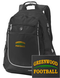 A go-anywhere Greenwood Community High School Woodmen backpack design in a streamlined size that's engineered to hold all the essentials in place. Convenient dual-side mesh water bottle pockets, and front pocket with organizer panel. Great for Greenwood Community High School Woodmen fan gear.