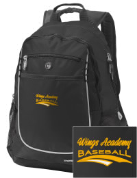 A go-anywhere Wings Academy Wings  backpack design in a streamlined size that's engineered to hold all the essentials in place. Convenient dual-side mesh water bottle pockets, and front pocket with organizer panel. Great for Wings Academy Wings  fan gear.