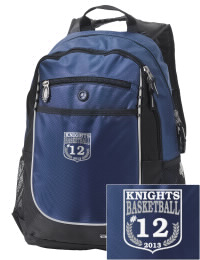 A go-anywhere Frederick K C Price III School Knights backpack design in a streamlined size that's engineered to hold all the essentials in place. Convenient dual-side mesh water bottle pockets, and front pocket with organizer panel. Great for Frederick K C Price III School Knights fan gear.