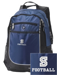 A go-anywhere Stone High School Tomcats backpack design in a streamlined size that's engineered to hold all the essentials in place. Convenient dual-side mesh water bottle pockets, and front pocket with organizer panel. Great for Stone High School Tomcats fan gear.