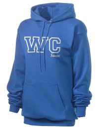 Crafted for comfort, this lighter weight embroidered Woodbury Central School Wildcats hooded sweatshirt is perfect for relaxing.  A must have hoody for the serious Woodbury Central School Wildcats apparel and merchandise collection. 50/50 cotton/poly fleece hoodie with two-ply hood, dyed-to-match drawcord, set-in sleeves, and front pouch pocket round out the features of a Wildcats hooded sweatshirt.