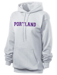 Crafted for comfort, this lighter weight embroidered Portland High School Panthers hooded sweatshirt is perfect for relaxing.  A must have hoody for the serious Portland High School Panthers apparel and merchandise collection. 50/50 cotton/poly fleece hoodie with two-ply hood, dyed-to-match drawcord, set-in sleeves, and front pouch pocket round out the features of a Panthers hooded sweatshirt.