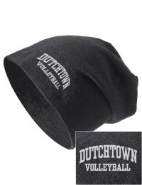 On the street or on the slopes, stay warm and look cool in this Dutchtown High School Griffins knit hat. An acyrlic/polyester blend beanie with a snug yet slouchy fit. Embroidery will not be on center front, but off centered to the left.