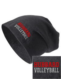 On the street or on the slopes, stay warm and look cool in this Hubbard High School Greyhounds knit hat. An acyrlic/polyester blend beanie with a snug yet slouchy fit. Embroidery will not be on center front, but off centered to the left.