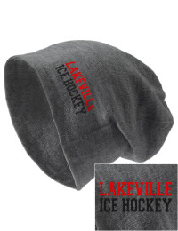 On the street or on the slopes, stay warm and look cool in this Lakeville High School Panthers knit hat. An acyrlic/polyester blend beanie with a snug yet slouchy fit. Embroidery will not be on center front, but off centered to the left.