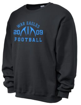cc2427499f6 East Lake War Eagles football JERZEES Unisex 50 50 NuBlend® 8oz Crewneck  Sweatshirt