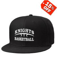 2931260c91b7c Oceanport Basketball Association Basketball Embroidered Wool Blend Flat  Bill Pro-Style Snapback Cap