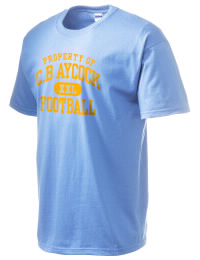 This custom Aycock High School Golden Falcons crewneck t-shirt with a seamless collar turns a classic into an ultra comfortable apparel choice. Customize this t-shirt with your favorite Golden Falcons design and personalize with your Aycock High School Golden Falcons year. Choose your custom design for your tee and wear this customized t-shirt proudly.