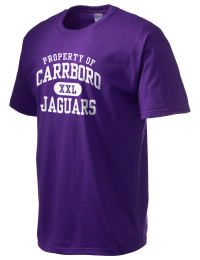 This custom Carrboro High School Jaguars crewneck t-shirt with a seamless collar turns a classic into an ultra comfortable apparel choice. Customize this t-shirt with your favorite Jaguars design and personalize with your Carrboro High School Jaguars year. Choose your custom design for your tee and wear this customized t-shirt proudly.