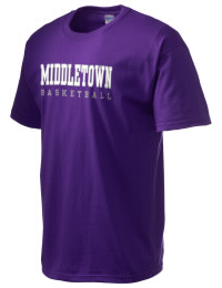 This custom Middletown High School Mighty Middies crewneck t-shirt with a seamless collar turns a classic into an ultra comfortable apparel choice. Customize this t-shirt with your favorite Mighty Middies design and personalize with your Middletown High School Mighty Middies year. Choose your custom design for your tee and wear this customized t-shirt proudly.