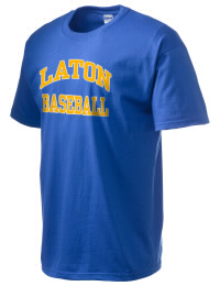 This custom Laton High School Mustangs crewneck t-shirt with a seamless collar turns a classic into an ultra comfortable apparel choice. Customize this t-shirt with your favorite Mustangs design and personalize with your Laton High School Mustangs year. Choose your custom design for your tee and wear this customized t-shirt proudly.