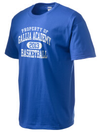 This custom Gallia Academy High School Blue Devils crewneck t-shirt with a seamless collar turns a classic into an ultra comfortable apparel choice. Customize this t-shirt with your favorite Blue Devils design and personalize with your Gallia Academy High School Blue Devils year. Choose your custom design for your tee and wear this customized t-shirt proudly.